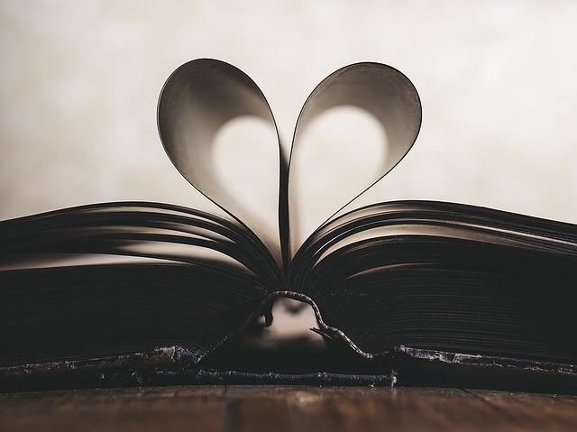 carta, romanticismo, simbolo