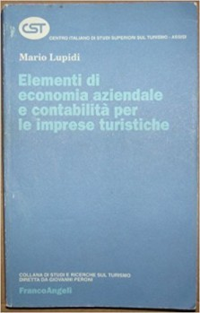 Elementi di economia aziendale e contabilità per le imprese turistiche